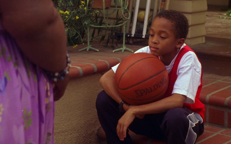 Spalding Basketball of Jascha Washington in Big Momma's House (2000)