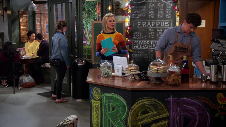 Square Stand POS System in Alexa & Katie S04E02 Rules for Better Barista-ing (2)