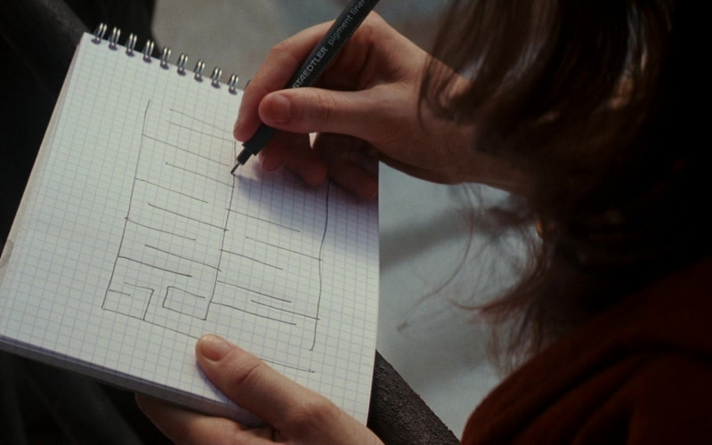 Staedtler Pen in Inception (2010)