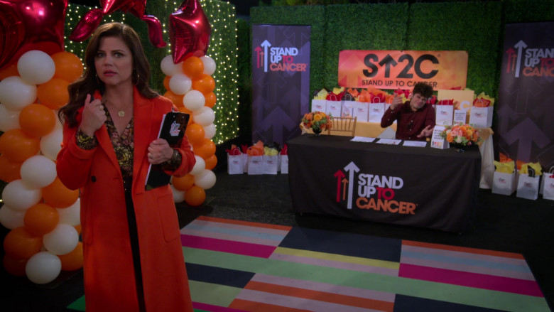 Stand Up to Cancer Charitable Program of the Entertainment Industry Foundation in Alexa & Katie TV Show (5)