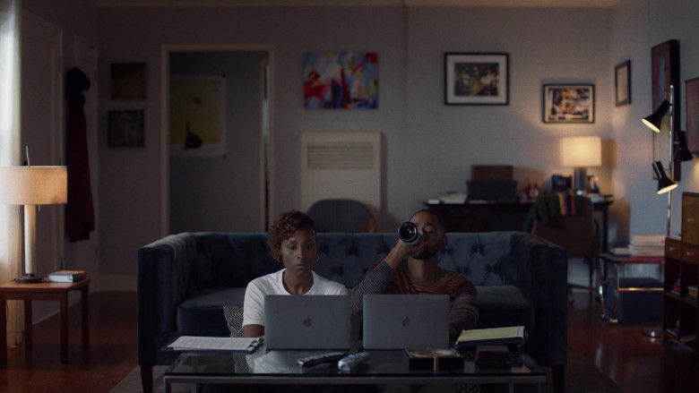 TV Show Characters Using Apple MacBook Laptop Computers in Insecure S04E09 TV Series (1)