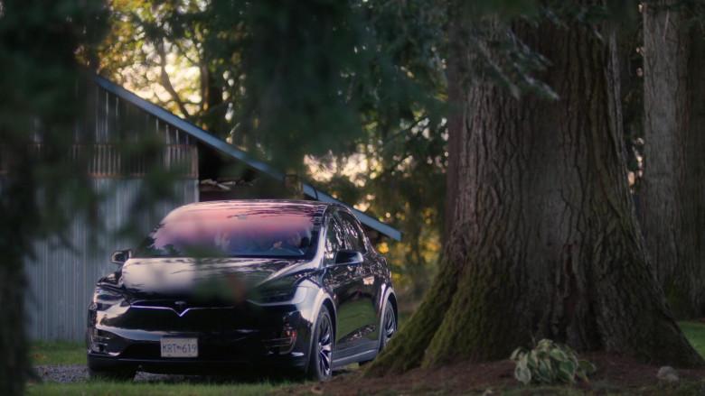 Tesla Model X Black Car in The Order S02E06 (1)