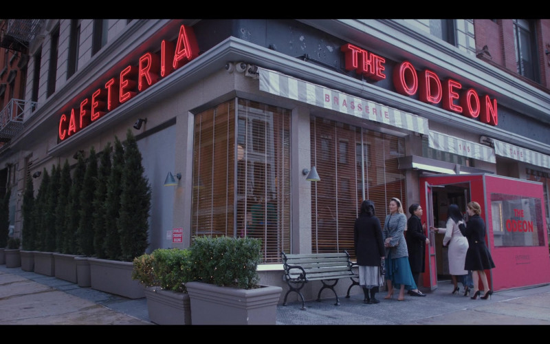 The Odeon Restaurant in Love Life S01E10 HBO MAX TV Series (1)