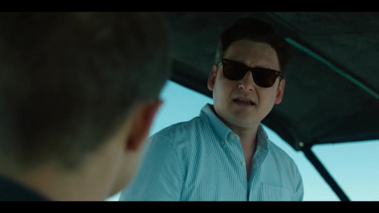 Toby Leonard Moore Wears Ray-Ban Sunglasses in Condor S02E03 TV Show (2)