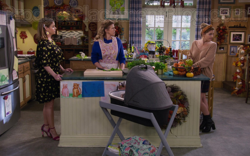 UPPAbaby VISTA Stroller in Fuller House S05E12 Cold Turkey (2020)