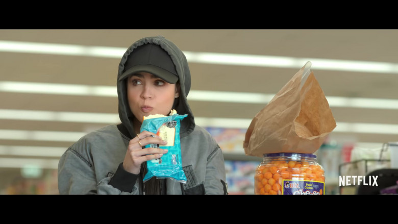 Utz Cheese Balls in Feel the Beat Movie (1)