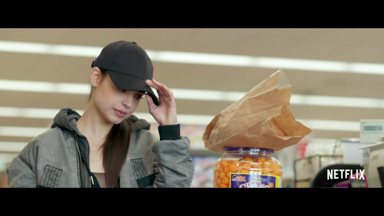 Utz Cheese Balls in Feel the Beat Movie (2)