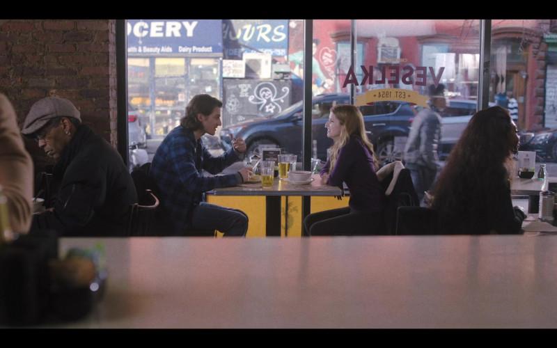 Veselka Ukrainian Restaurant in Love Life S01E09 TV Show (1)