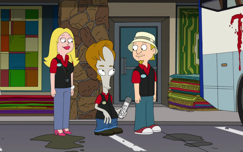 Voss Water in American Dad! S17E09 Animated TV Show (1)