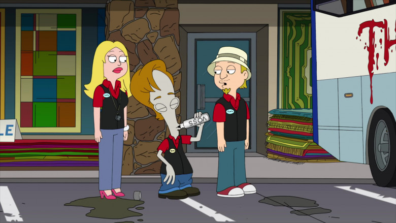 Roger Smith Enjoying Roger Voss Water in American Dad! S17E09 Animated TV Show (2)