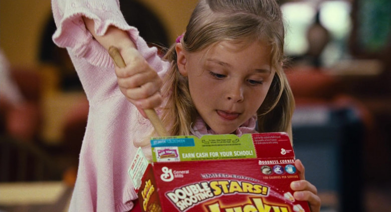 Young Chloë Grace Moretz Enjoying General Mills Lucky Charms Cereal in Big Momma's House 2 Film (2)