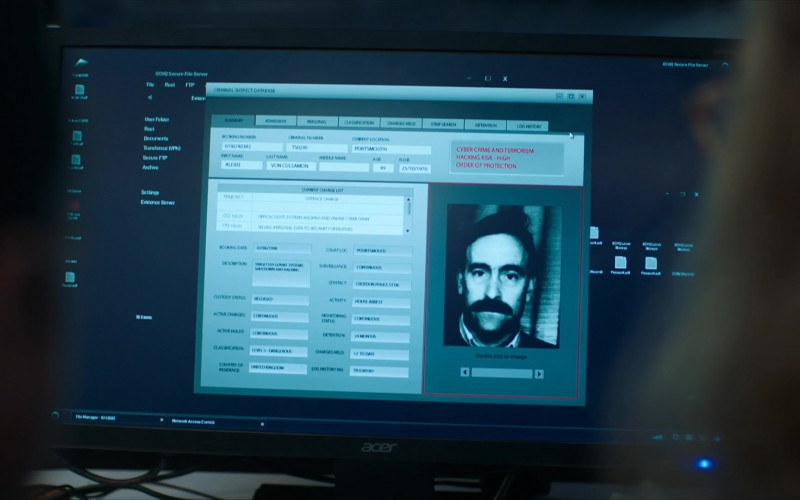Acer Monitor in Intelligence S01E02 (2020)