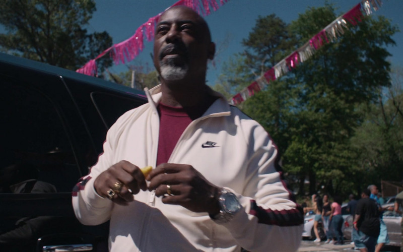 Actor Wears Nike Men's Tracksuit in P-Valley S01E02 (1)
