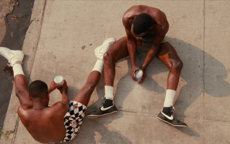 Actors Wearing Nike Sneakers in Do the Right Thing 1989 Film (4)