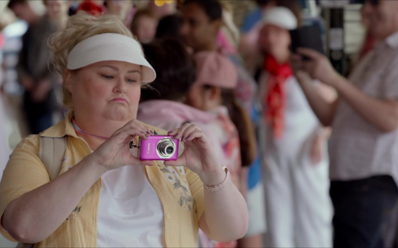 Actress Using Canon Pink Camera in The Very Excellent Mr. Dundee (2020) Film