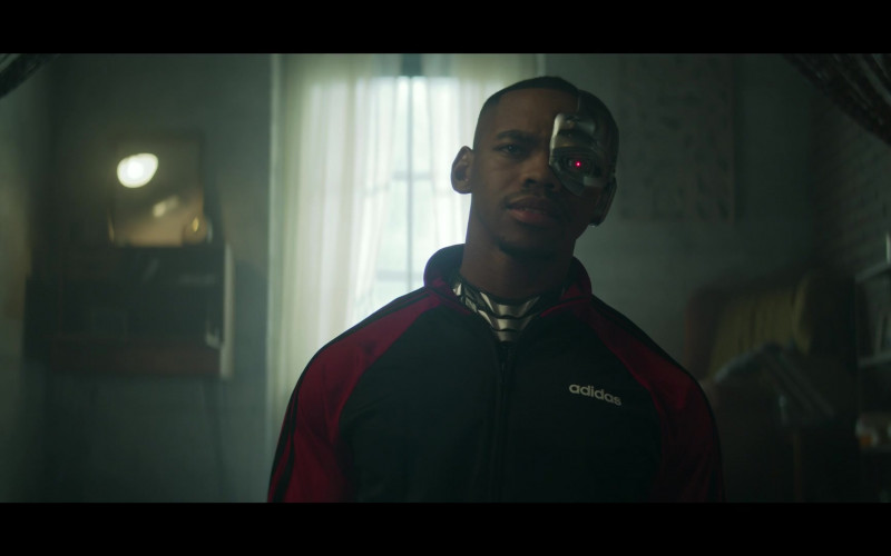 Adidas Jacket of Joivan Wade as Victor 'Vic' Stone Cyborg in Doom Patrol S02E06 (2)