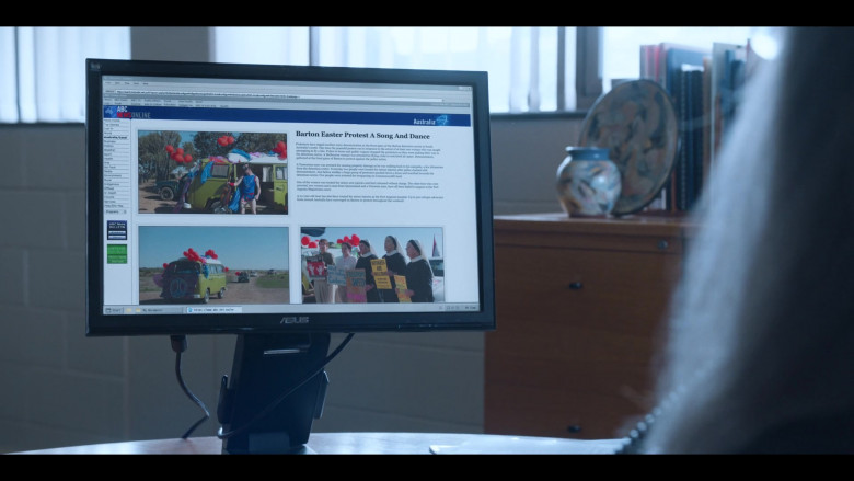 Asus Monitor in Stateless S01E04