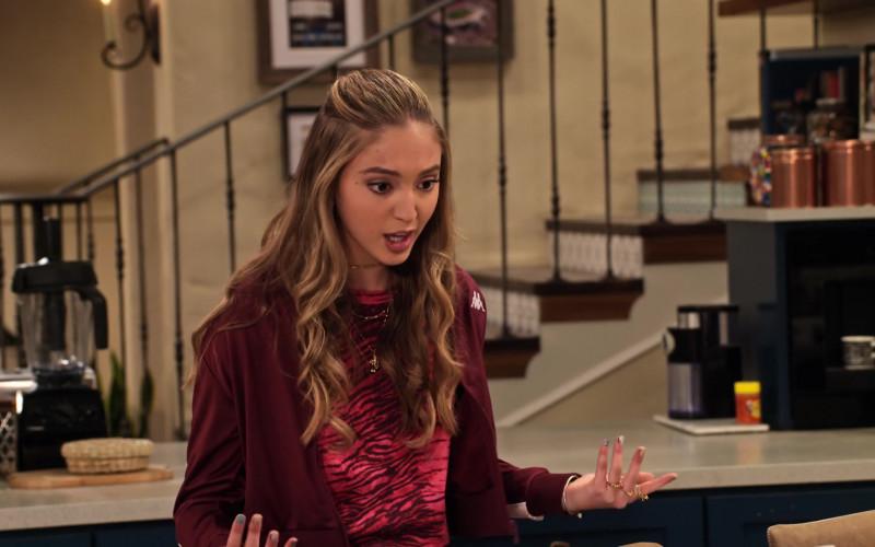 Bella Podaras Wears Kappa Women's Jacket Outfit (1)