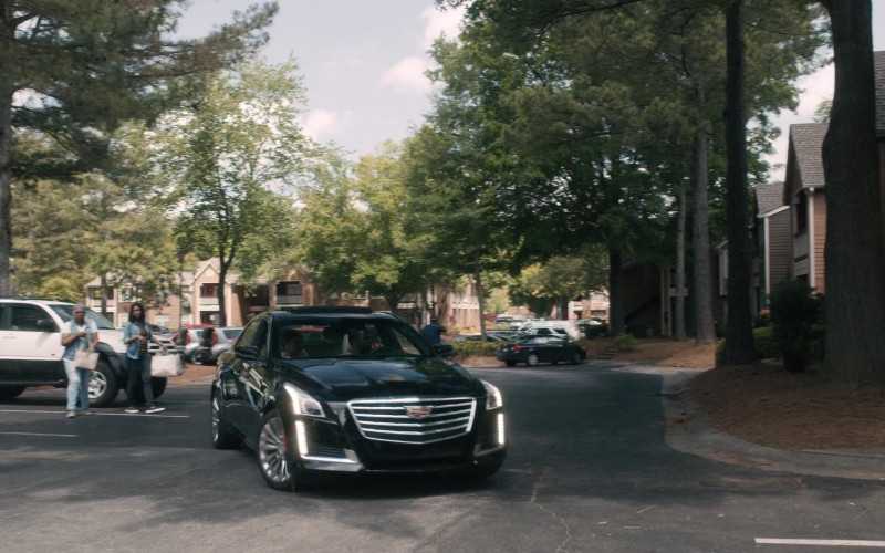 Cadillac CTS Black Car in Greenleaf S05E03 TV Show (1)