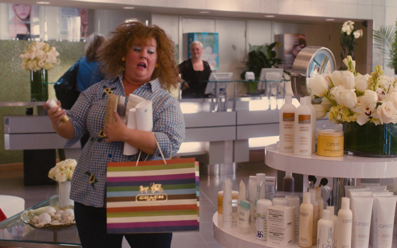 Coach New York Paper Bag Held by Melissa McCarthy as Diana in Identity Thief (2)