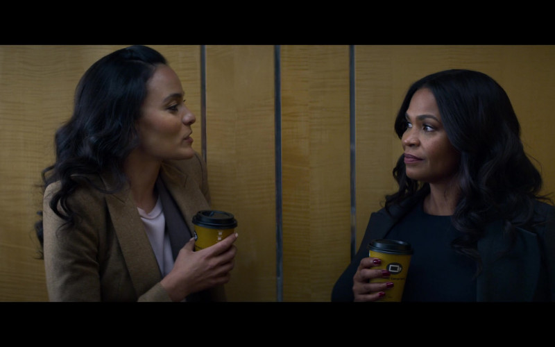 Coffee Beanery Drink Enjoyed by Nia Long in Fatal Affair