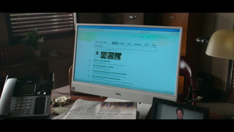 Dell All-In-One Computer and Vtech Phone in Stargirl S01E10