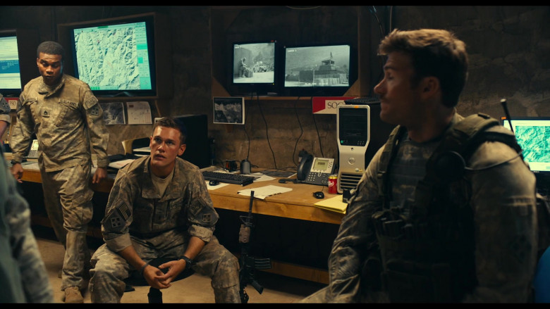 Dell Computer and Dr Pepper Can in The Outpost (2020)