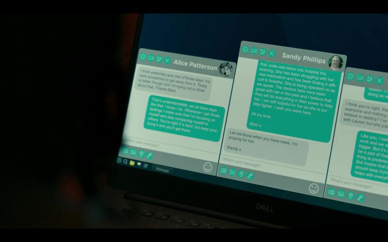 Dell Laptop in Hanna S02E05