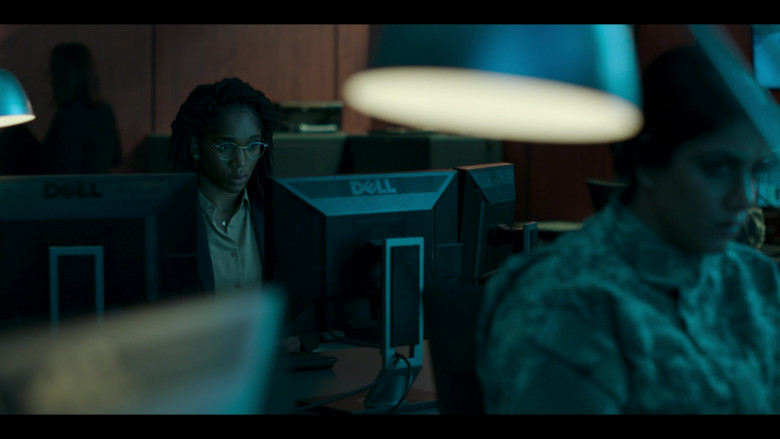 Dell Monitor Used by Cherrelle Skeete as Terri Miller in Hanna S02E07