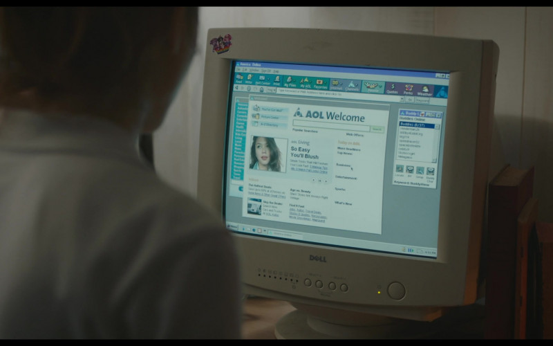 Dell Monitor and America Online (AOL) Website