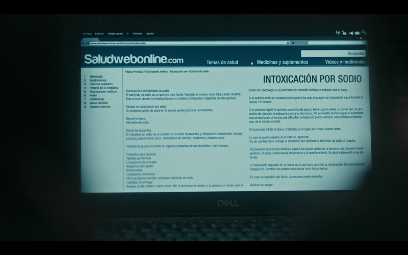 Dell Notebook Used by Actresses in Dark Desire S01E16