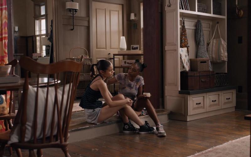 Desiree Ross as Sophia Wears Converse High Top Sneaker Outfit in Greenleaf Season 1 Episode 3 TV Show