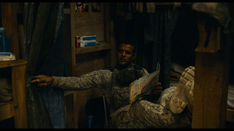 Dr Pepper Soda Drinks in The Outpost 2020 Movie (1)