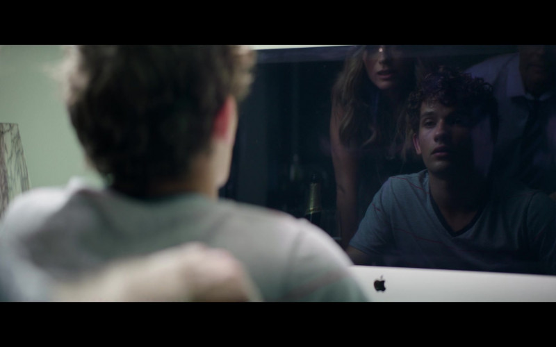 Eli Brown Using Apple iMac Computer in The Fk-It List 2020 Movie (2)
