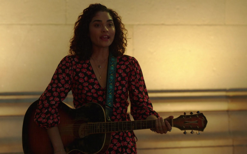 Fender Guitar of Brittany O'Grady as Bess King in Little Voice S01E02