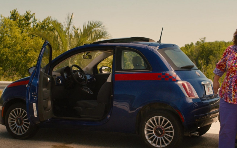 Fiat 500 Car of Melissa McCarthy in Identity Thief (2)