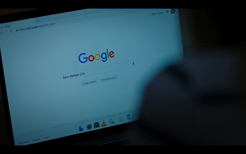 Google WEB Search in Condor S02E05