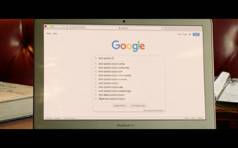 Google Website in Palm Springs Movie (1)