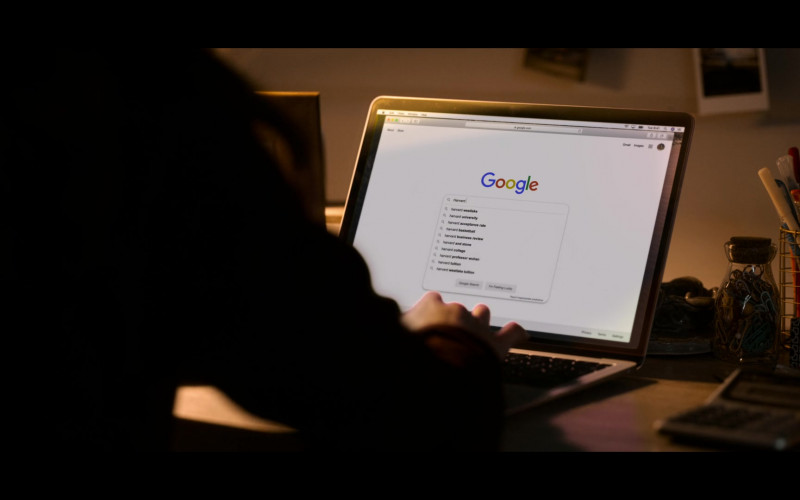 Google Website in The Kissing Booth 2 Netflix Movie (1)