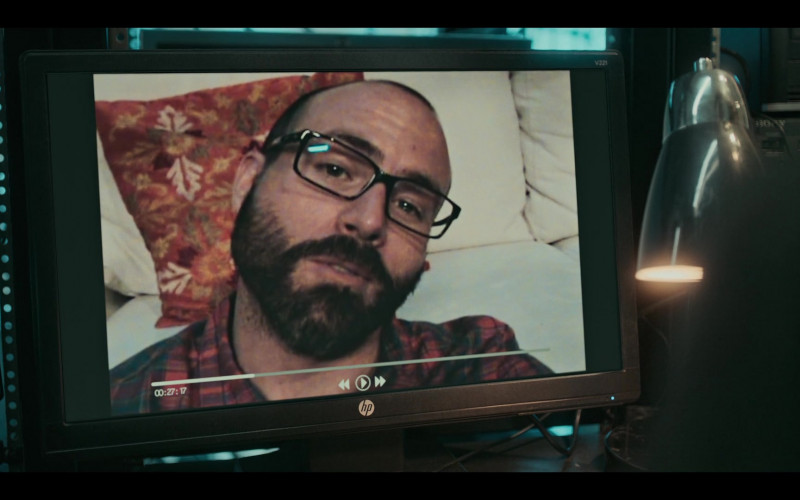 HP Monitor Used by Netflix TV Show Cast Members in Dark Desire S01E16 (2)