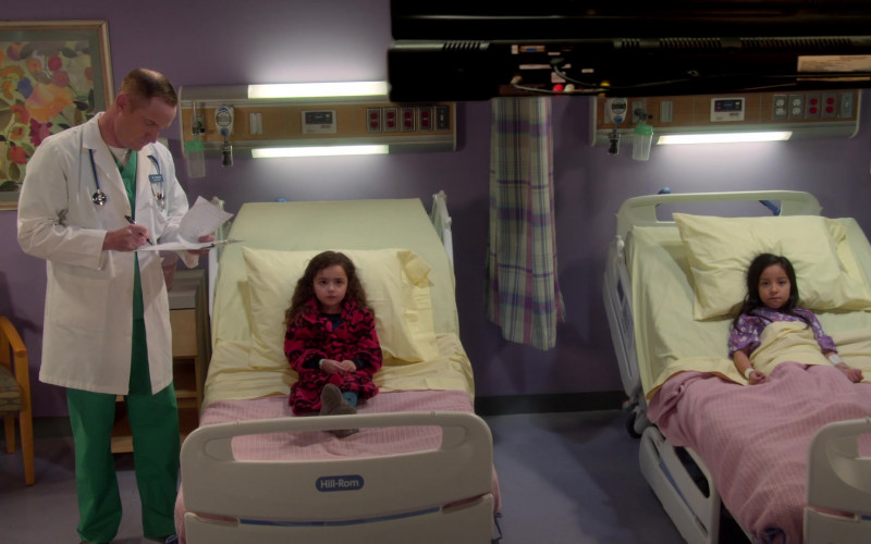 Hill Rom Hospital Beds in United We Fall Season 1 Episode 1 TV Show (1)
