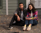 New Balance Black Sneakers of Jencarlos Canela as Victor in ...