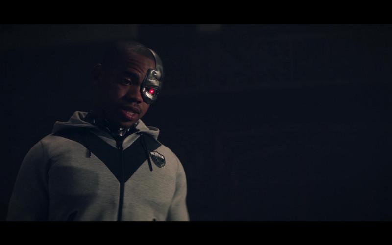 Joivan Wade as Victor 'Vic' Stone – Cyborg Wears Polo Ralph Lauren Shield Logo Full-Zip Hoodie (1)