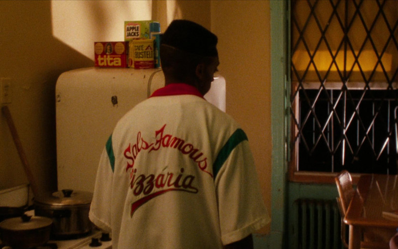 Kellogg's Apple Jacks and Café Bustelo in Do the Right Thing (1989)