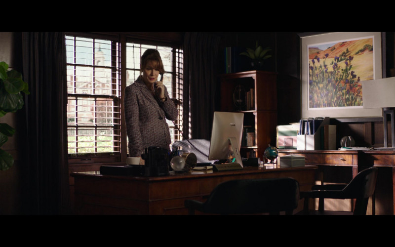 Kristin Carey Using Asus AIO Desktop Computer in The Fk-It List (2020) Movie