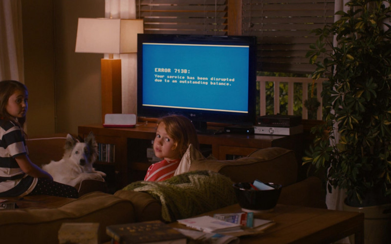 LG TV in Identity Thief (2013)