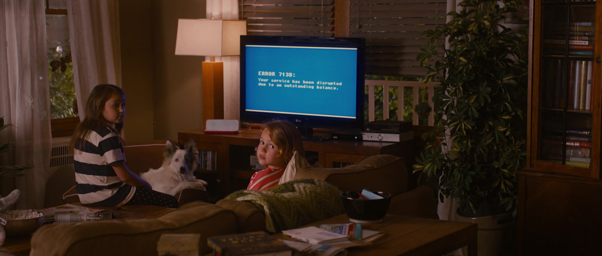 Lg Tv In Identity Thief 2013