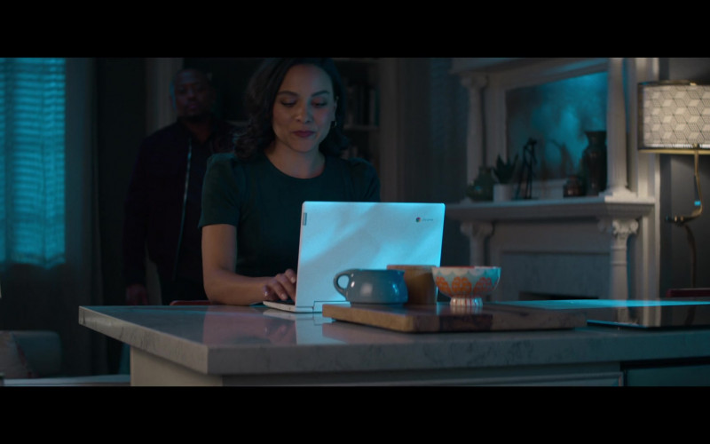 Lenovo Chromebook White Laptop in Fatal Affair Movie (1)