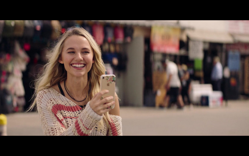 Madison Iseman Using Apple iPhone in The Fk-It List 2020 Movie (2)