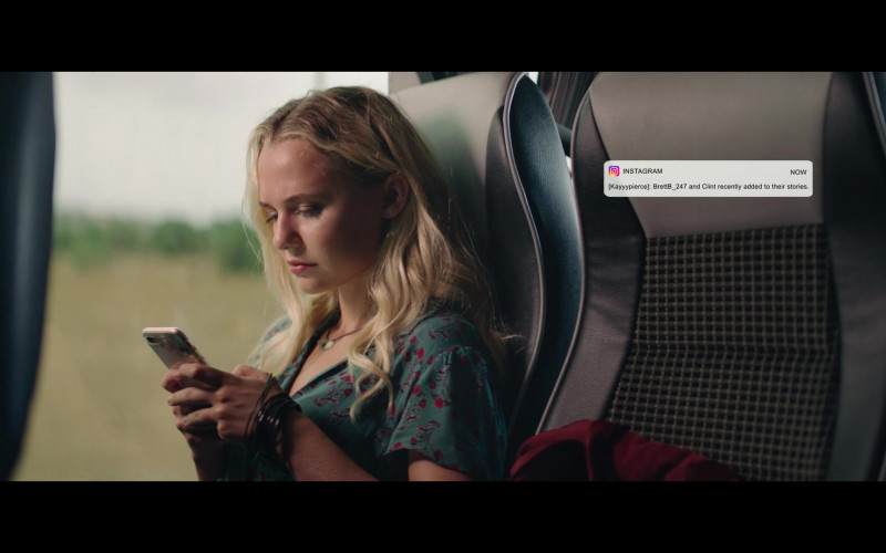 Madison Iseman Using Instagram WEB App in The Fk-It List (2020) Film